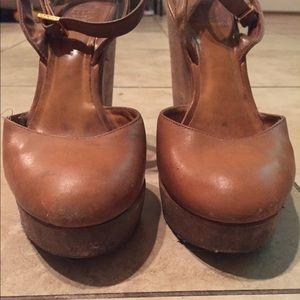 b8cec9b29865 Tory Burch Shoes - Tory Burch Drea Wood Wedge Sandals